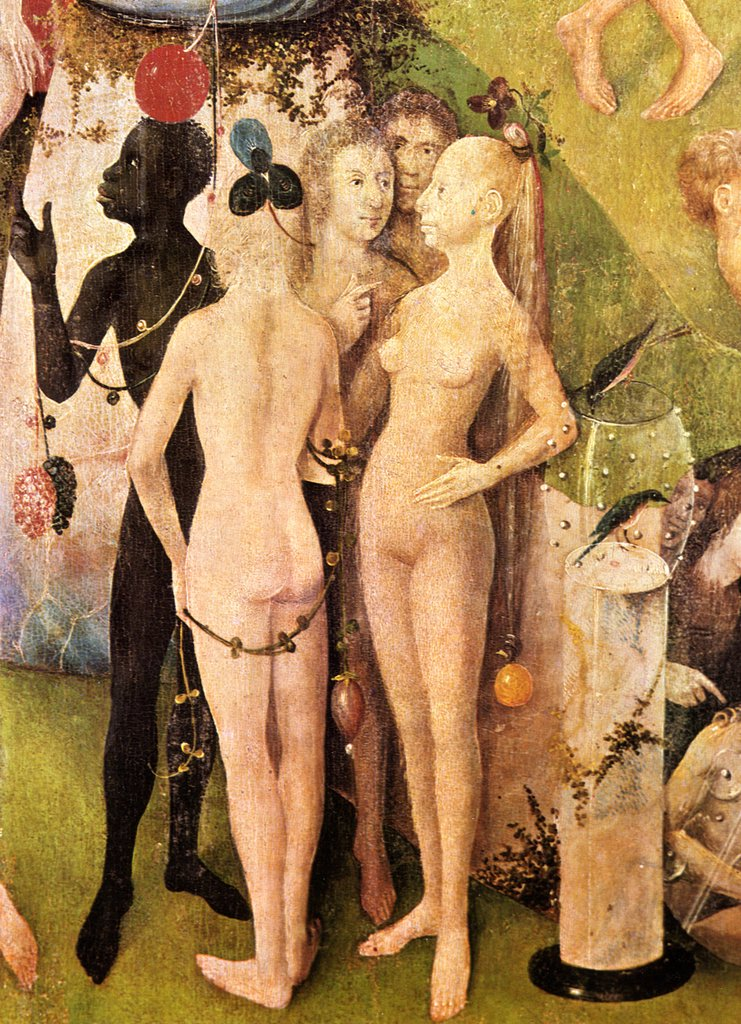 Stock Photo: 4266-4912 Garden of Eden by Hieronymus Bosch, Oil on wood, circa 1500, 1450?-1516, Spain, Madrid, Museo del Prado