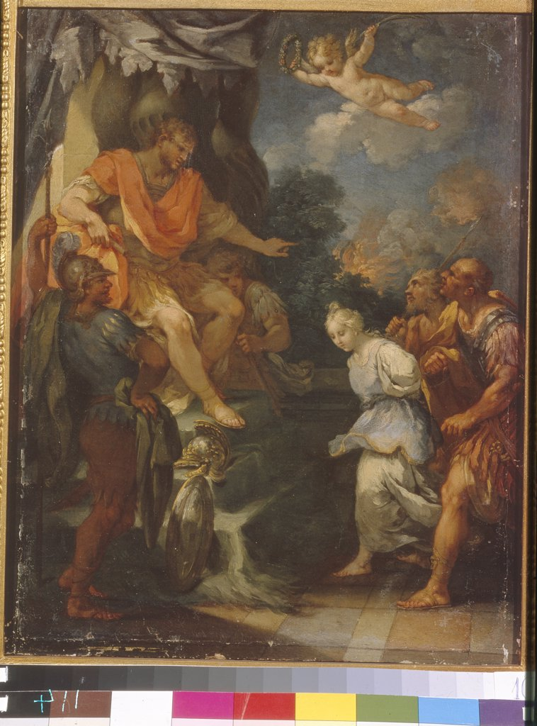 Stock Photo: 4266-5952 Persecution of Christians in Roman Empire by Michele Rocca, Oil on canvas, Baroque, circa 1670-circa 1751, Latvia, Riga, State Museum of Foreign Art of Republic Latvia,