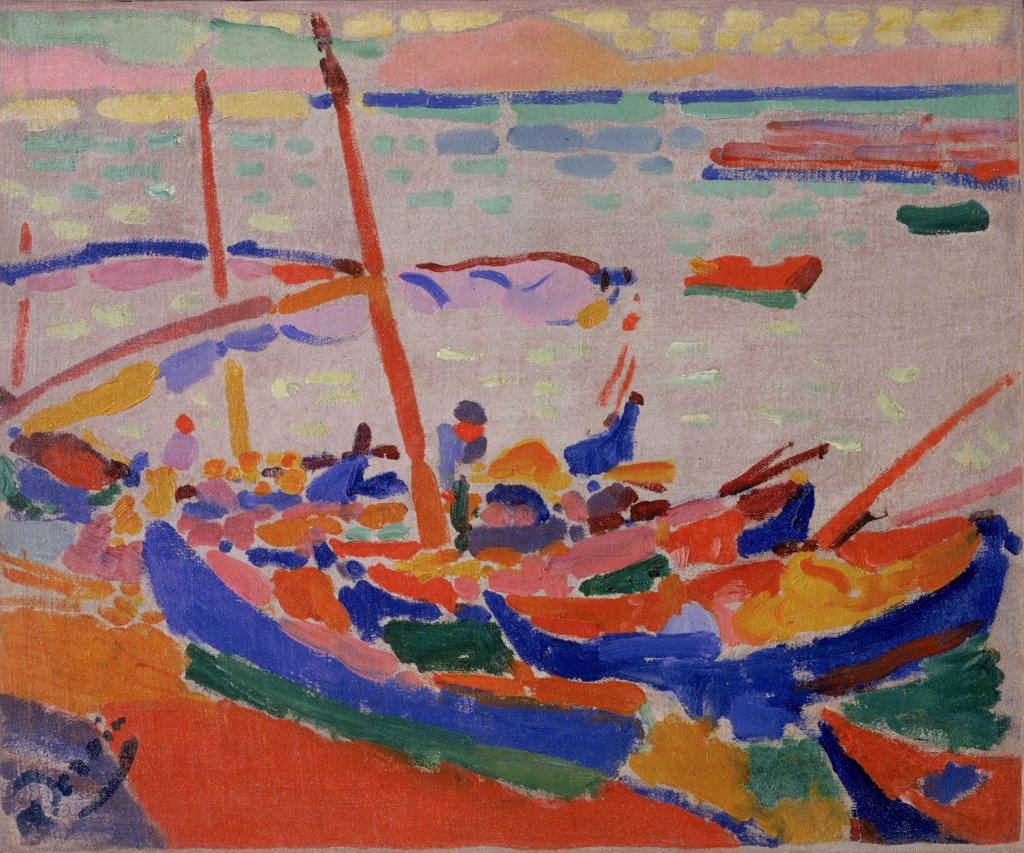 Stock Photo: 4266-6672 Derain, Andre (1880-1954) © Museum of Modern Art, New York 1905 38,2x46,3 Oil on canvas Nabis France
