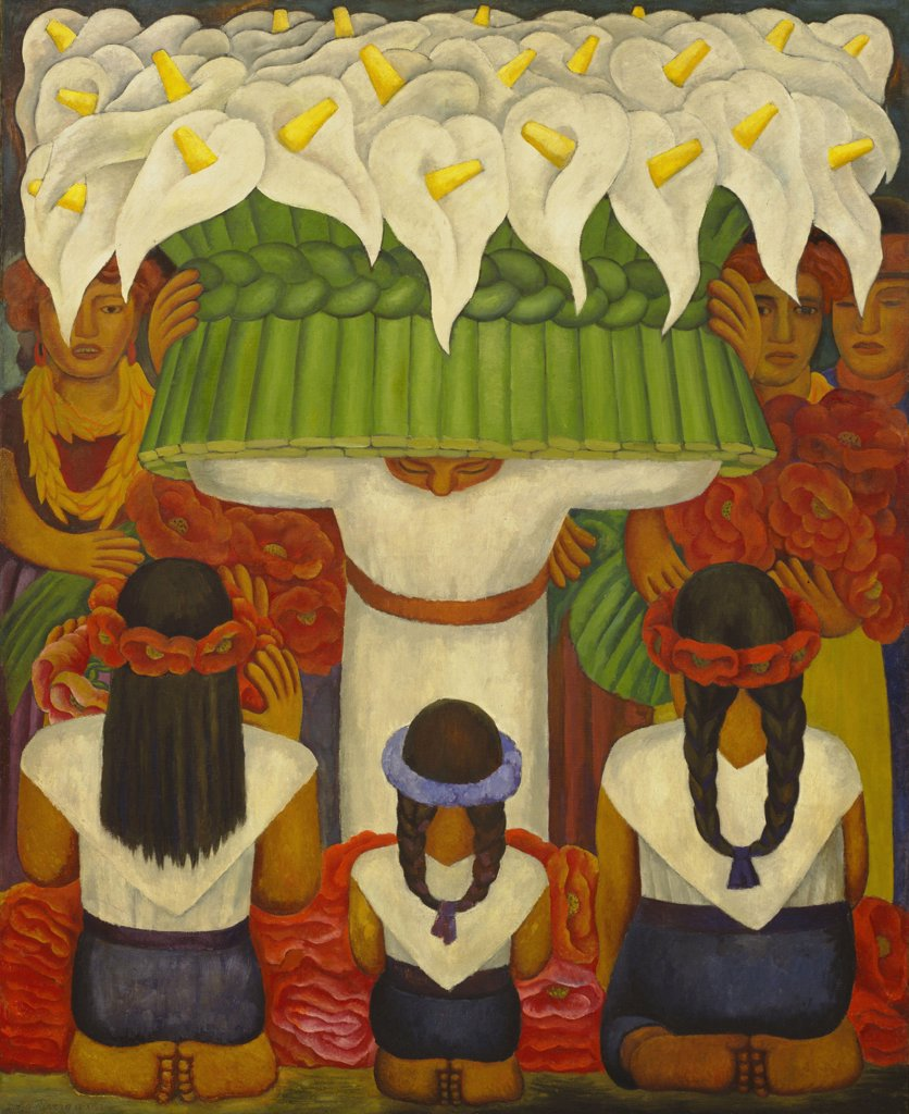 Rivera, Diego-Maria (1866-1957) © Museum of Modern Art, New York 1931 199,3x162 Encaustic on canvas Stridentism Mexico  : Stock Photo