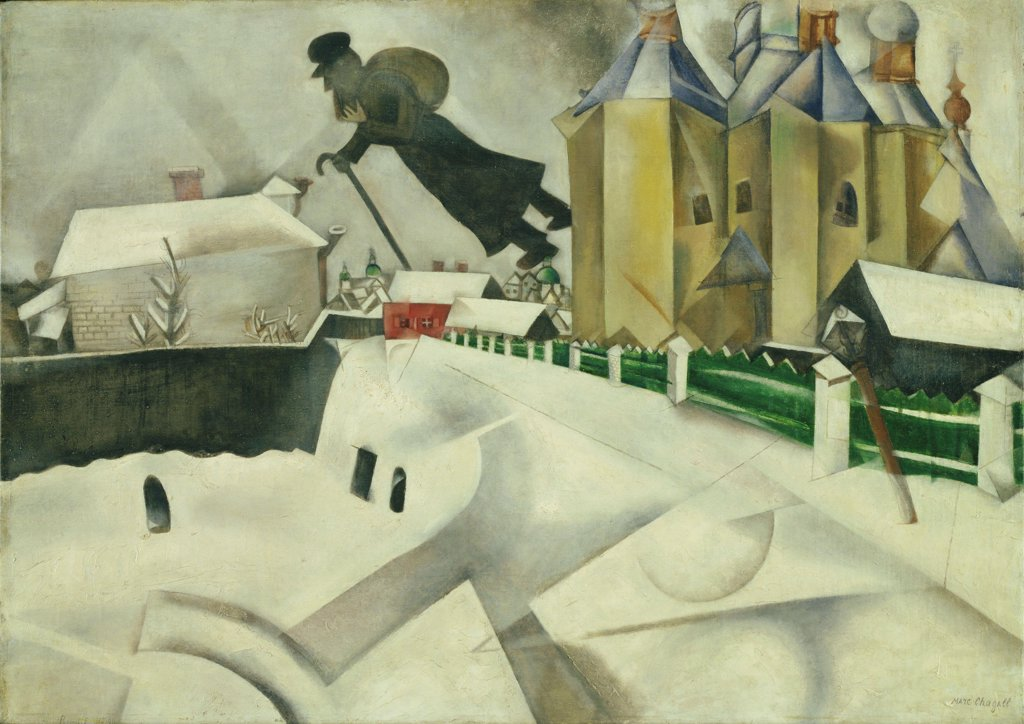 Stock Photo: 4266-6738 Chagall, Marc (1887-1985) © Museum of Modern Art, New York 1915-1921 67x92,7 Oil on canvas Modern Russia Mythology, Allegory and Literature