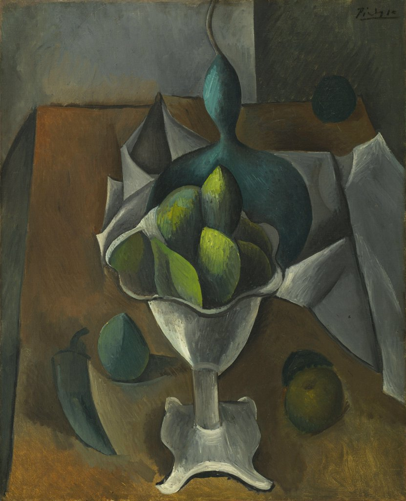 Stock Photo: 4266-6751 Picasso, Pablo (1881-1973) © Museum of Modern Art, New York 1908-1909 74,3x61 Oil on canvas Cubism Spain