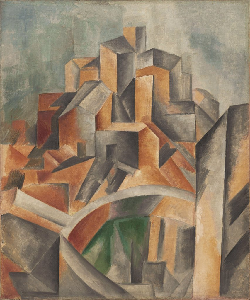 Stock Photo: 4266-6768 Picasso, Pablo (1881-1973) © Museum of Modern Art, New York 1909 61,5x51,1 Oil on canvas Cubism Spain