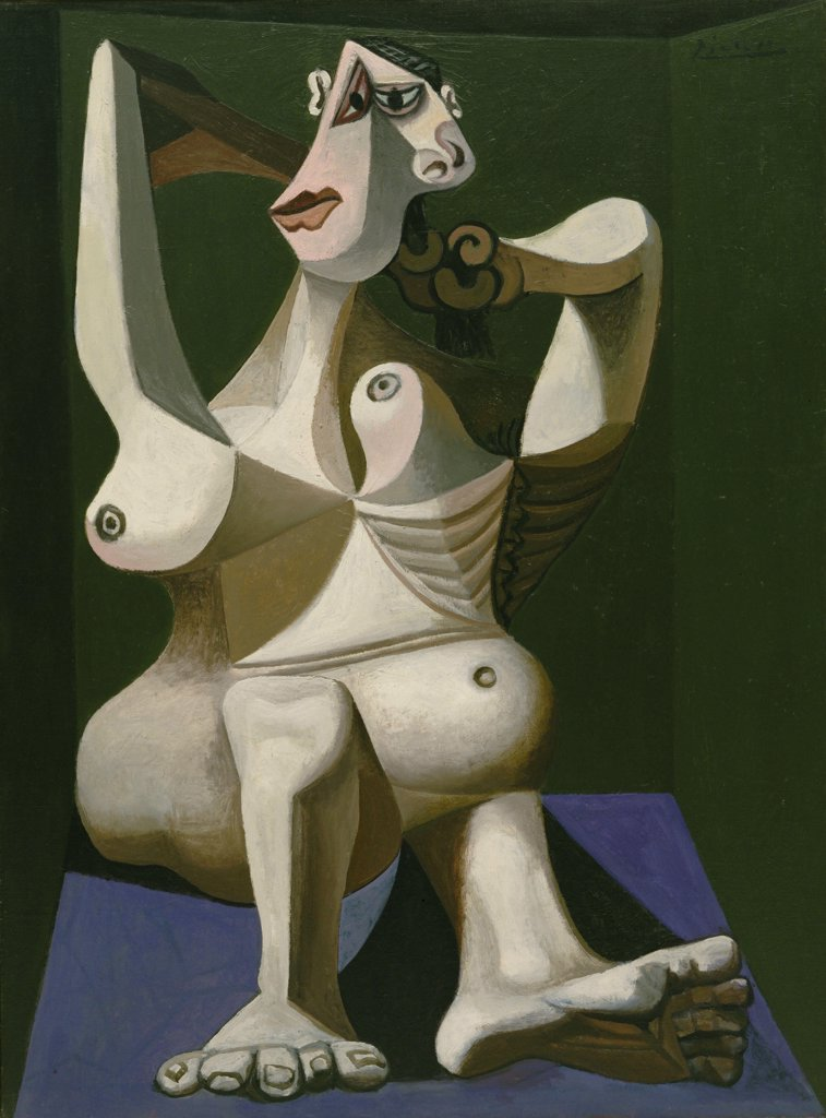 Picasso, Pablo (1881-1973) © Museum of Modern Art, New York 1940 130x97 Oil on canvas Cubism Spain  : Stock Photo
