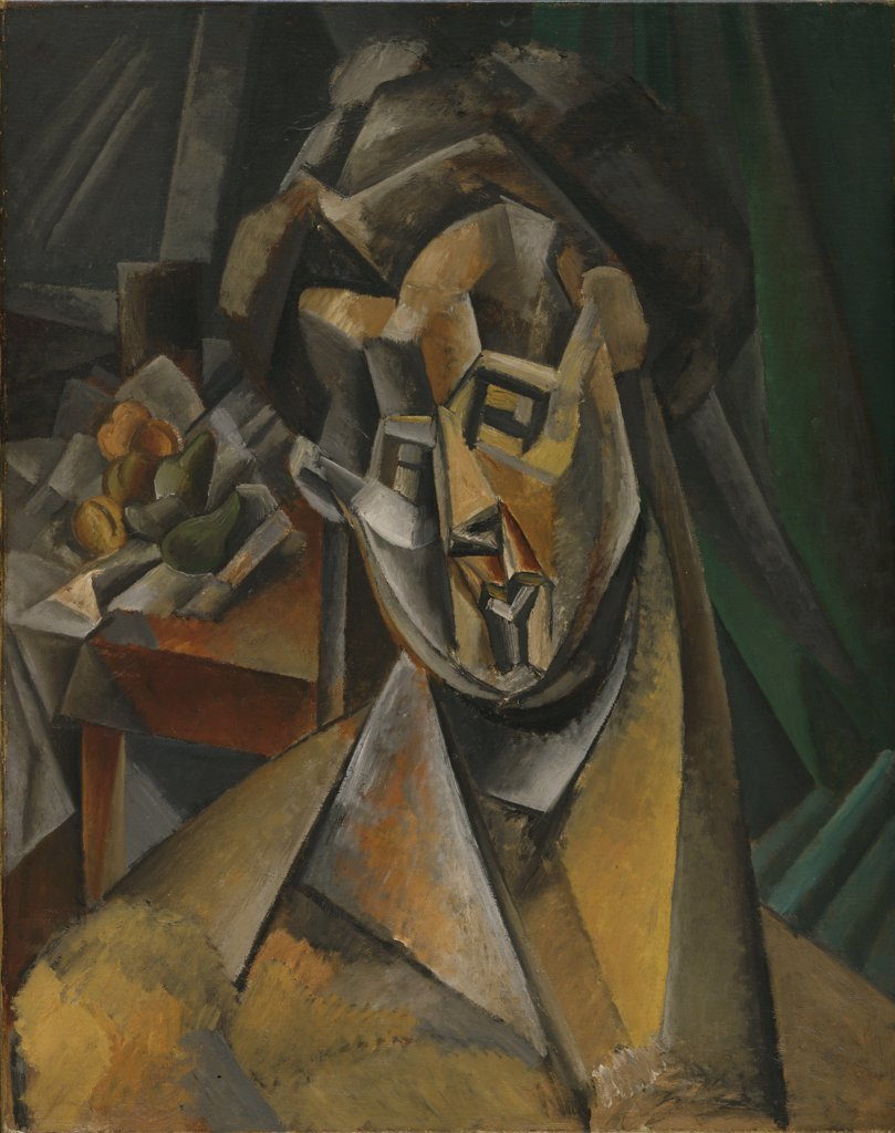 Stock Photo: 4266-6776 Picasso, Pablo (1881-1973) © Museum of Modern Art, New York 1909 92x73 Oil on canvas Cubism Spain