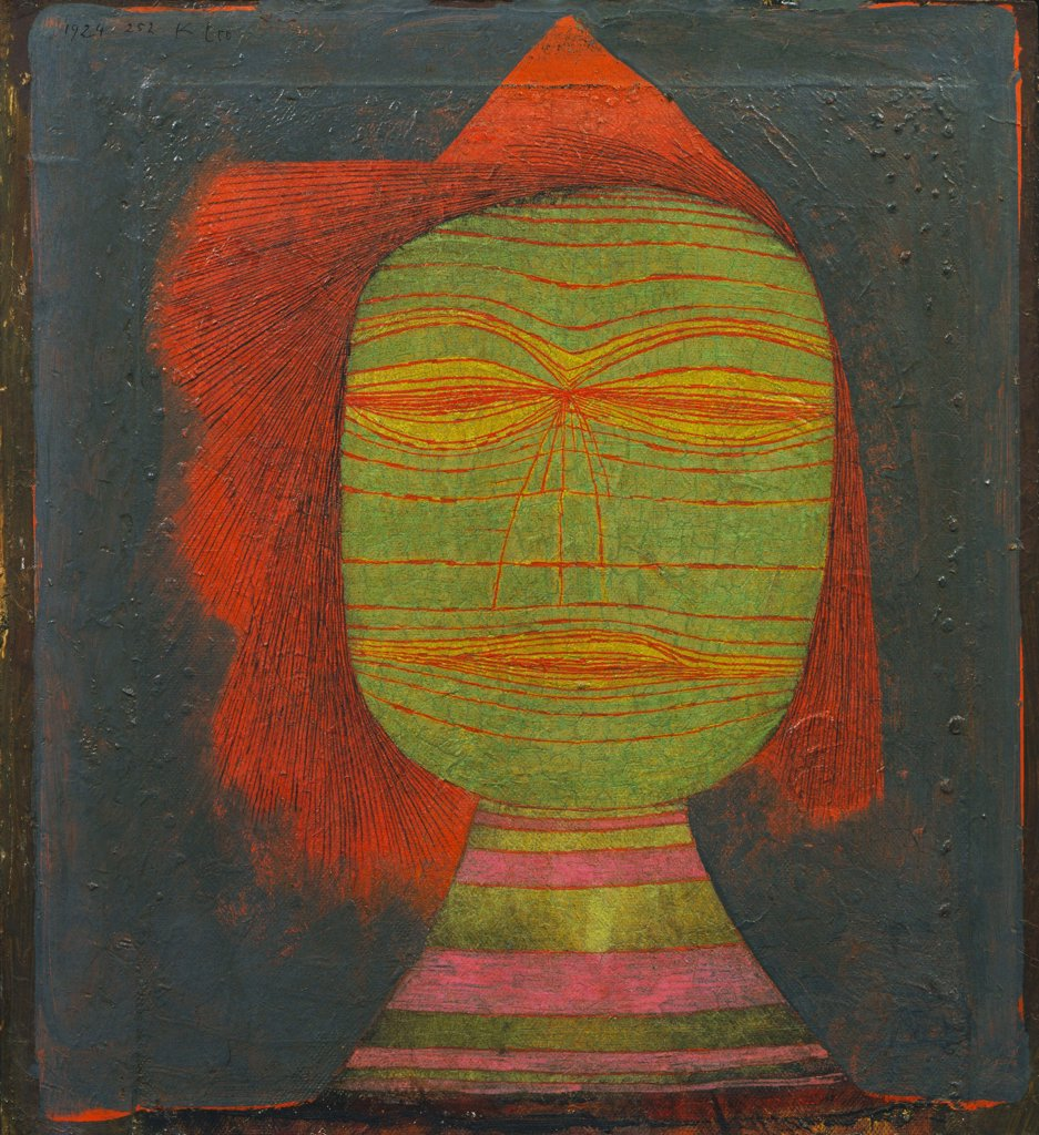 Stock Photo: 4266-6797 Klee, Paul (1879-1940) © Museum of Modern Art, New York 1924 36,7x33,8 Oil on canvas Modern Germany