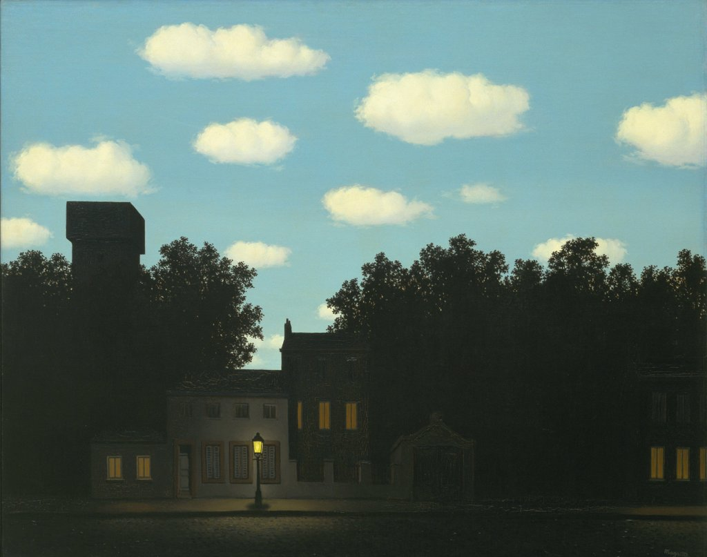 Stock Photo: 4266-6810 Magritte, Rene Francois Ghislain (1898-1967) © Museum of Modern Art, New York 1950 78,8x99,1 Oil on canvas Surrealism Belgium