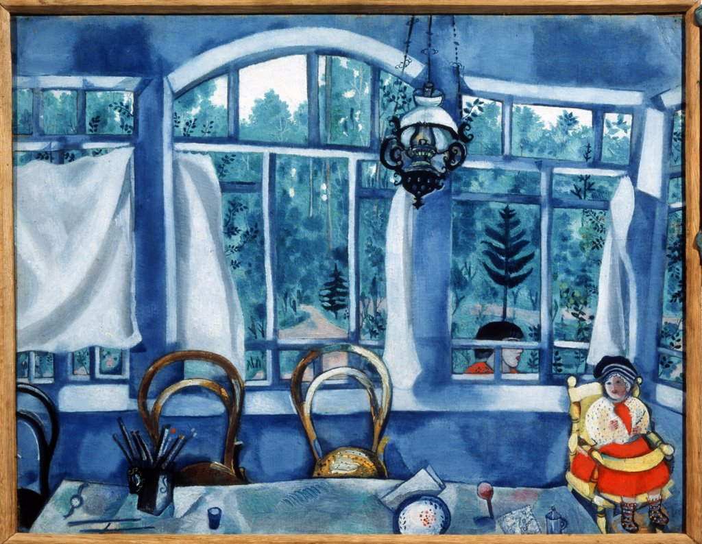 Stock Photo: 4266-7919 Chagall, Marc (1887-1985) I. Brodski Museum, St. Petersburg c. 1917 46,5x61 Tempera on paper Russian avant-garde Russia