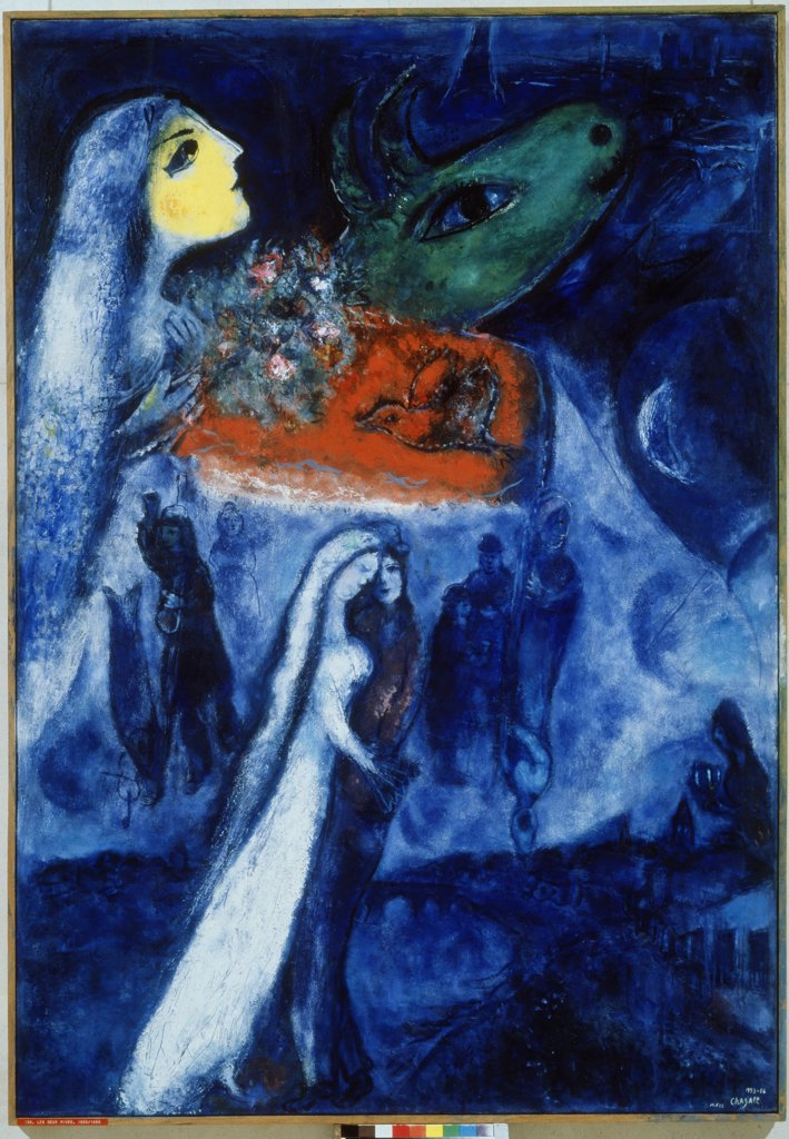 Stock Photo: 4266-8980 Chagall, Marc (1887-1985) Private Collection 1953-1956 148x102 Oil on canvas Modern Russia