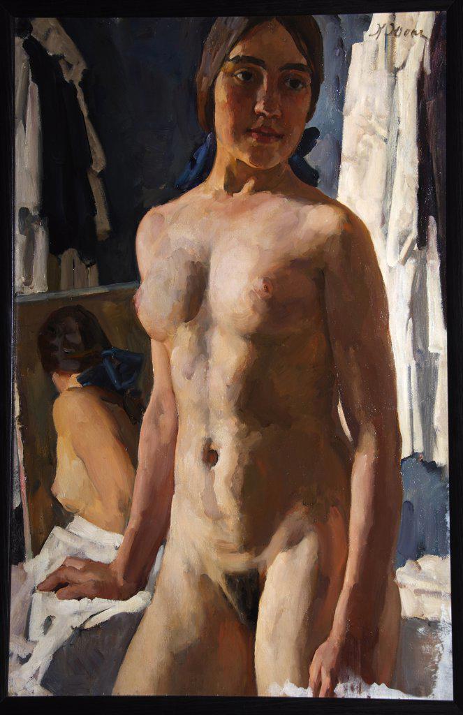 Stock Photo: 4266-9431 Regional Art Gallery, Vologda 83,5x60 Nude