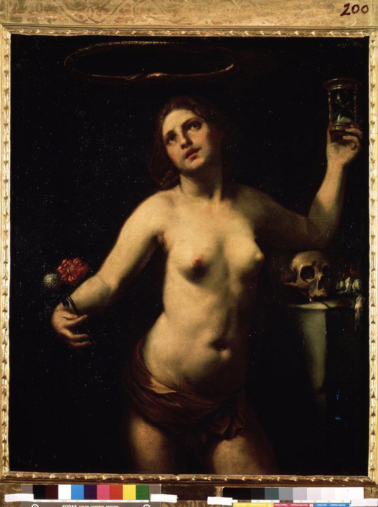 Stock Photo: 4266-9889 Allegory of Living by Guido Canlassi, Oil on canvas, 1650, 1601-1663, Ukraine, Sevastopol, M. Kroshitsky Art Museum