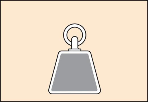 Digital illustration representing medium vertical load : Stock Photo