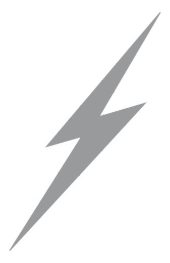 Digital illustration of grey lightening flash : Stock Photo