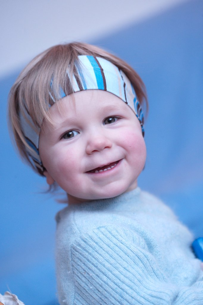 Stock Photo: 4269-1987 2 years old baby.