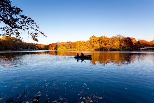Stock Photo: 4269-32481 Central Park, New York, USA.