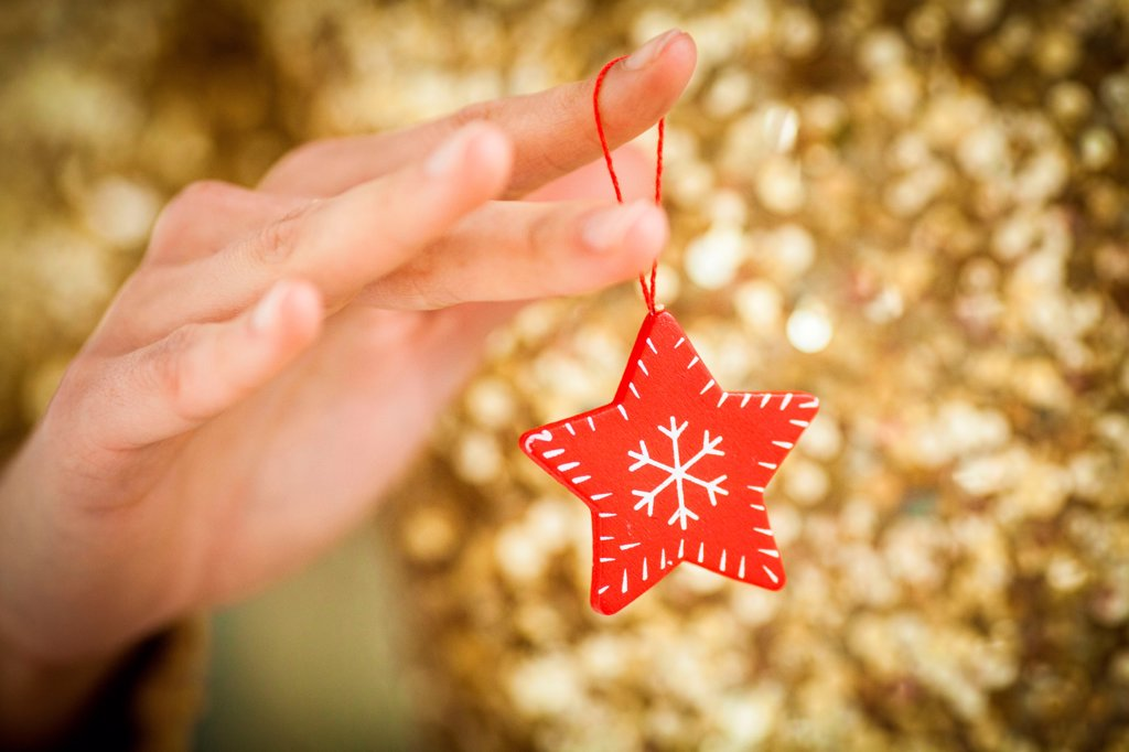 Stock Photo: 4269-35194 Christmas tree decoration