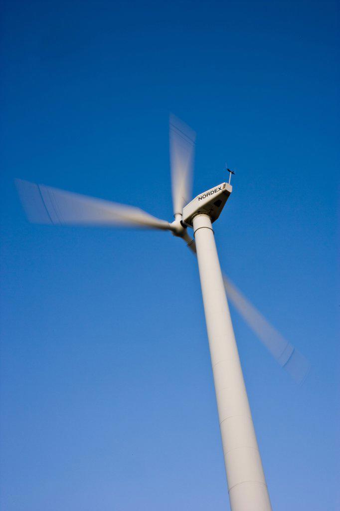 Wind turbine. : Stock Photo