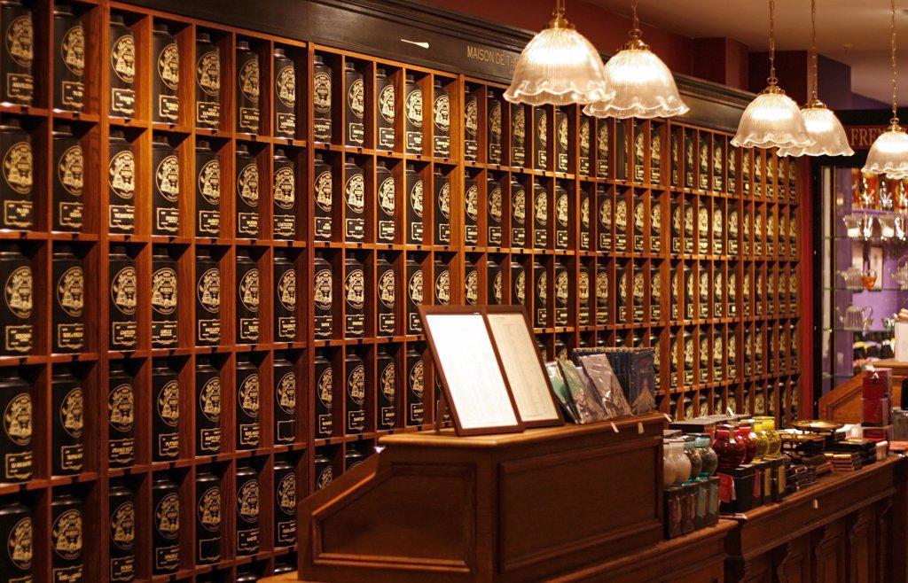 Inside the Department Store Alsterhaus Hamburg, Germany : Stock Photo
