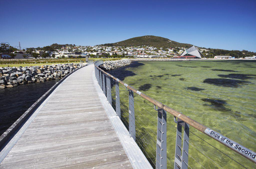 Stock Photo: 4272-1597 ANZAC Peace Park, Albany, Western Australia, Australia
