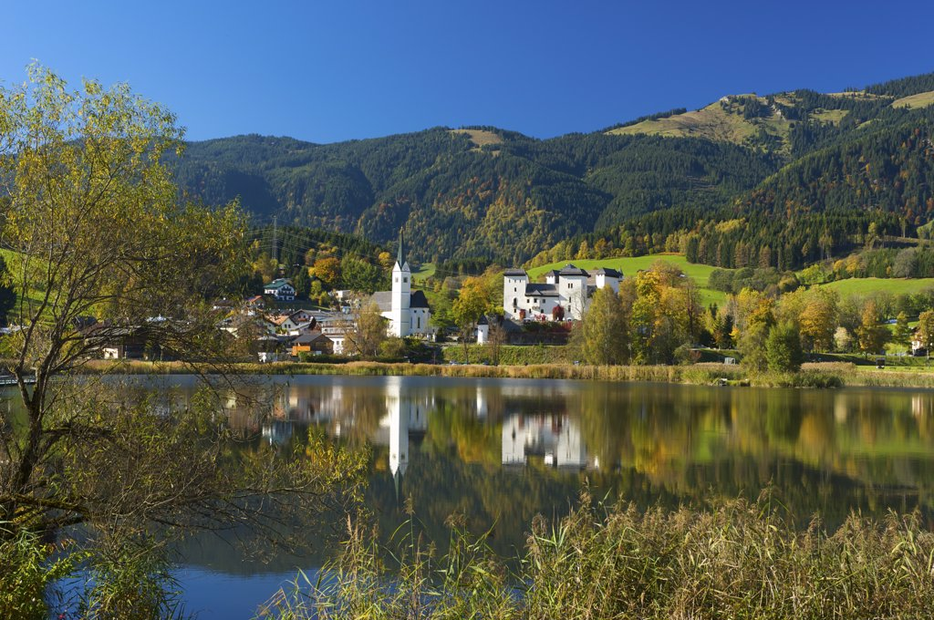 Goldegg in Pongau Salzburger Land, Austria : Stock Photo