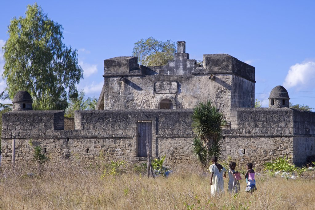 Stock Photo: 4272-21882 The Fortim de Santo Antonio, one of three Portuguese forts on Ibo Island, part of the Quirimbas Archipelago, Mozambique