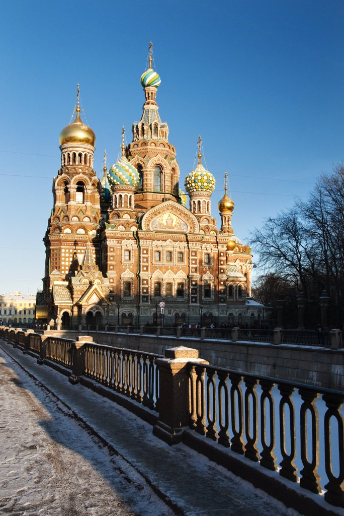Stock Photo: 4272-27129 The Church of our Saviour on the spilled blood, Saint Petersburg, Russia