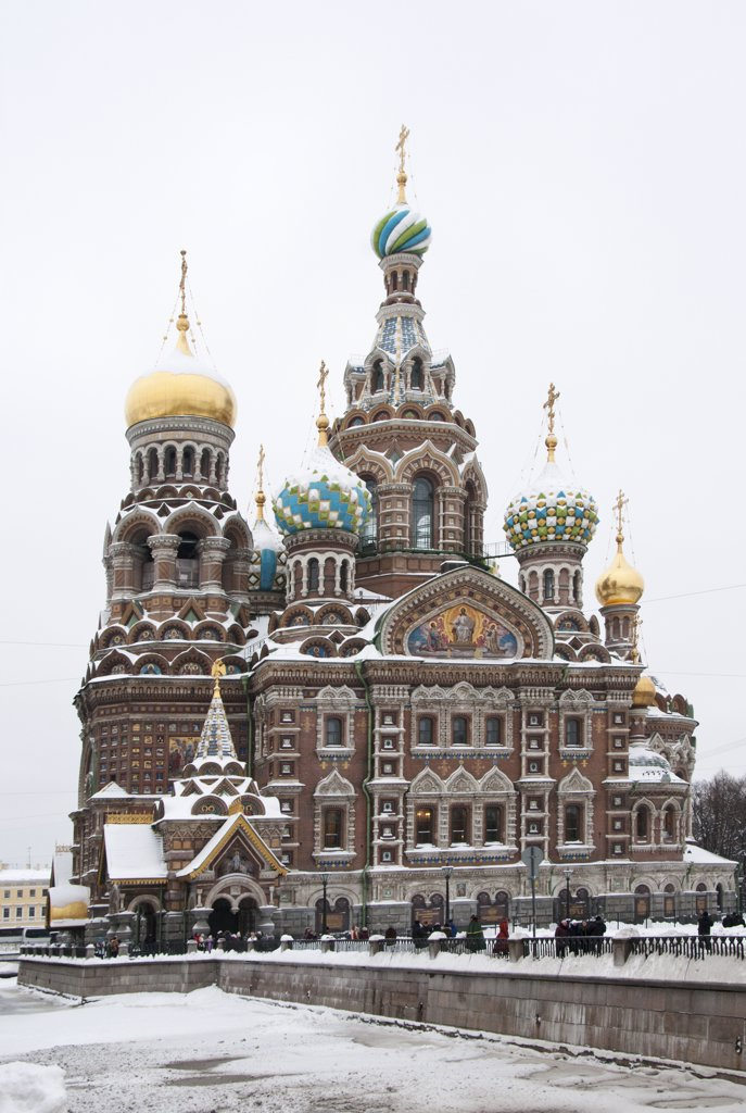 Stock Photo: 4272-27528 The Church of our Saviour on the spilled blood, Saint Petersburg, Russia