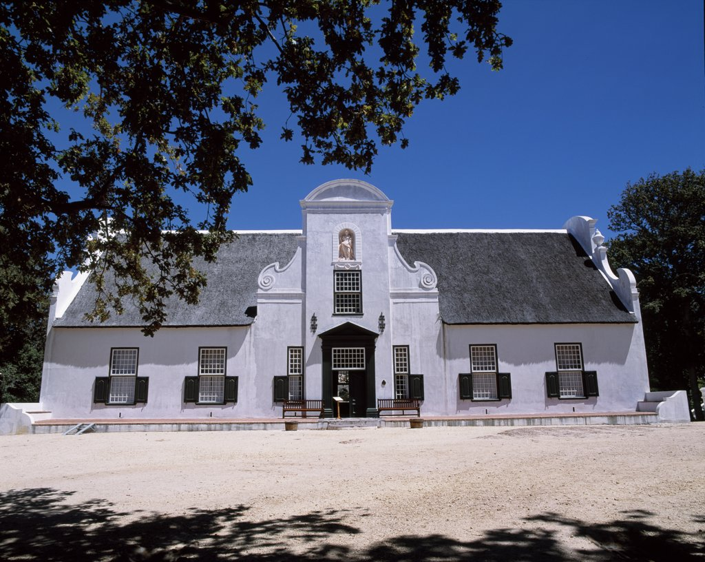 Stock Photo: 4272-27783 Groot Constantia, Cape Dutch manor house & vineyard, Cape town's 4th most visited attraction