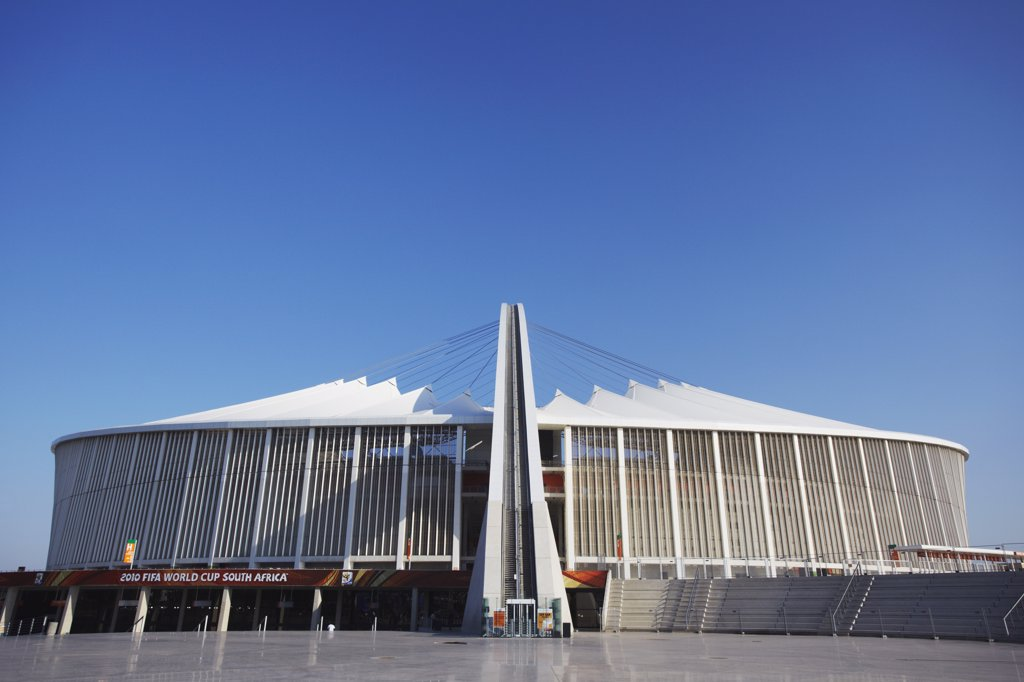 Stock Photo: 4272-28383 Moses Mabhida Stadium, Durban, KwaZulu-Natal, South Africa
