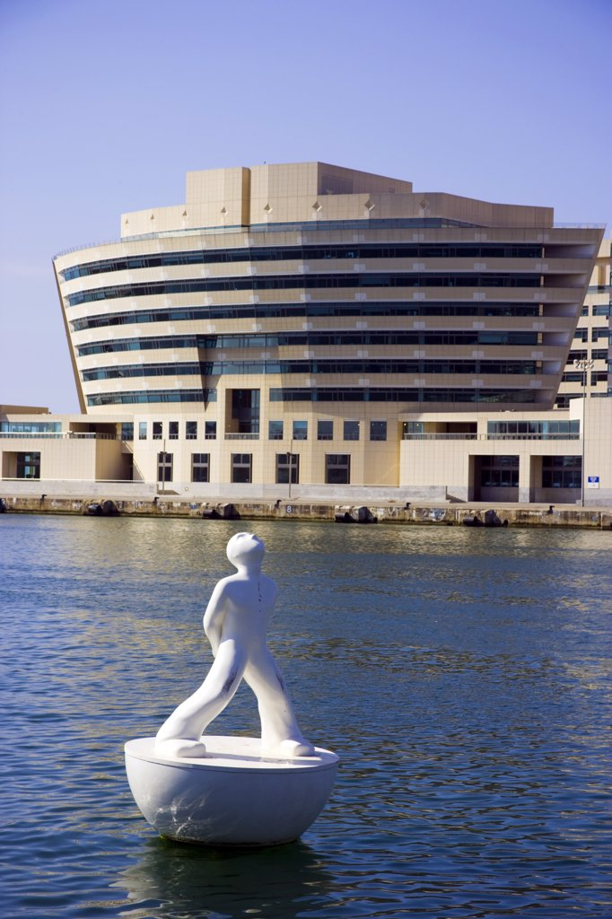 Stock Photo: 4272-30535 Port Vell and World Trade Center, Barcelona, Catalonia, Spain