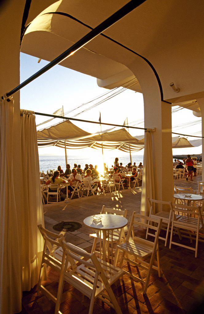 Stock Photo: 4272-30898 Cafe Savannah, San Antonio, Eivissa, Ibiza, Spain