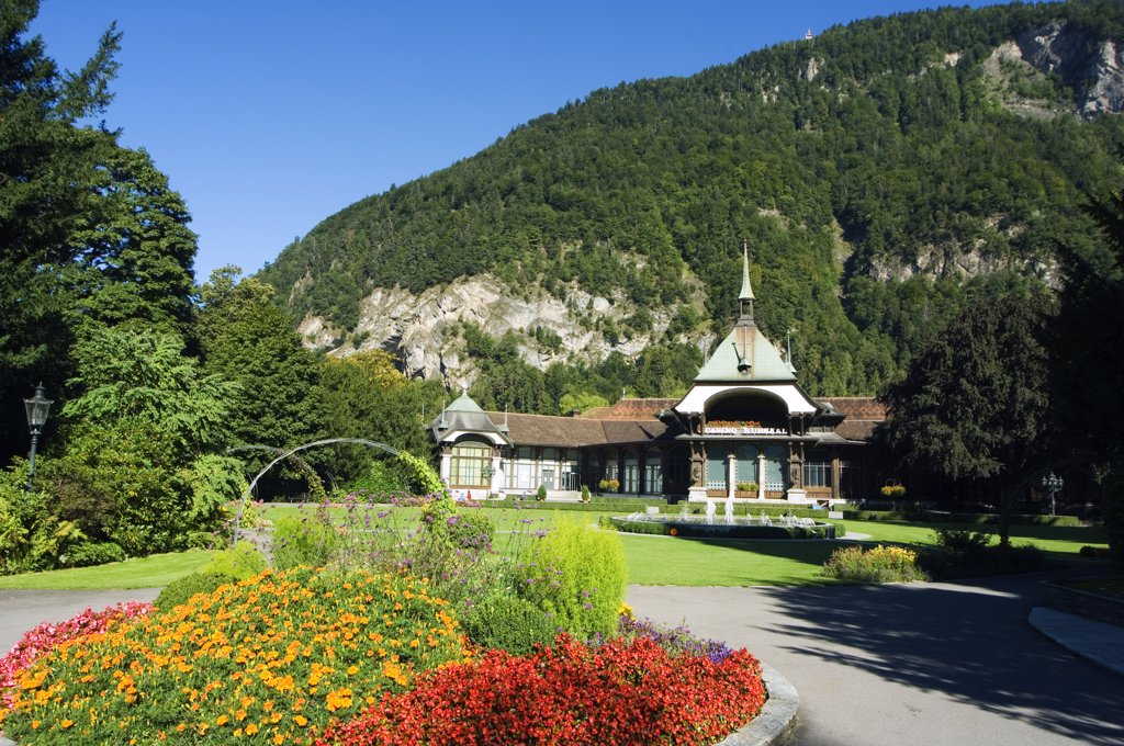 Stock Photo: 4272-31537 Interlaken Casino, Interlaken, Jungfrau Region, Switzerland