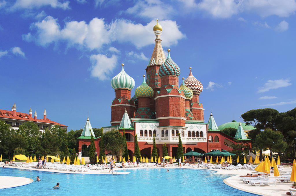 Stock Photo: 4272-32751 WOW Kremlin Palace Hotel  in Antalya, Turquoise Coast, Turkey