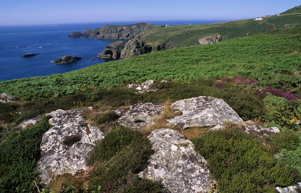 Stock Photo: 4272-35315 Wales. St David's Head, Pembrokeshire National Park