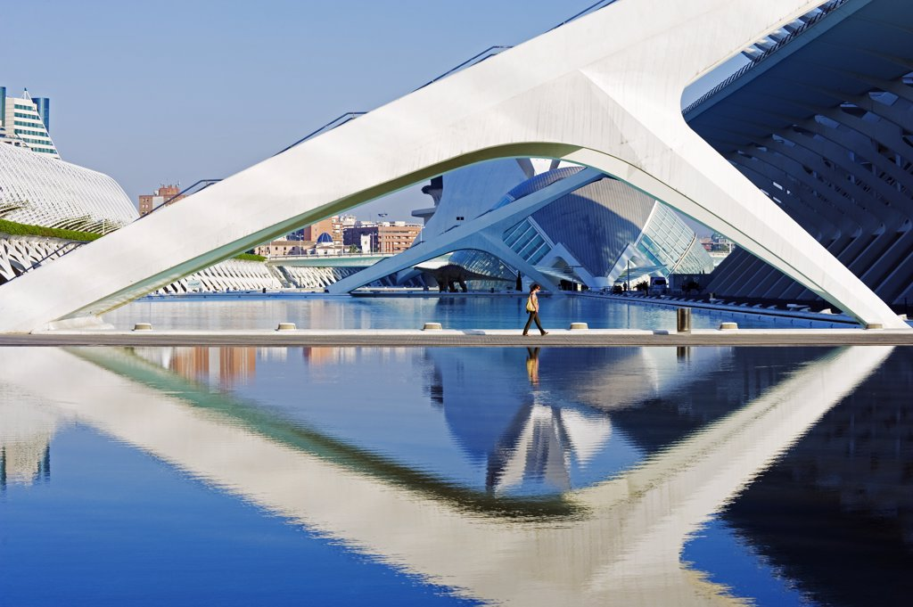Stock Photo: 4272-38207 Europe, Spain, Valencia, City of Arts and Sciences