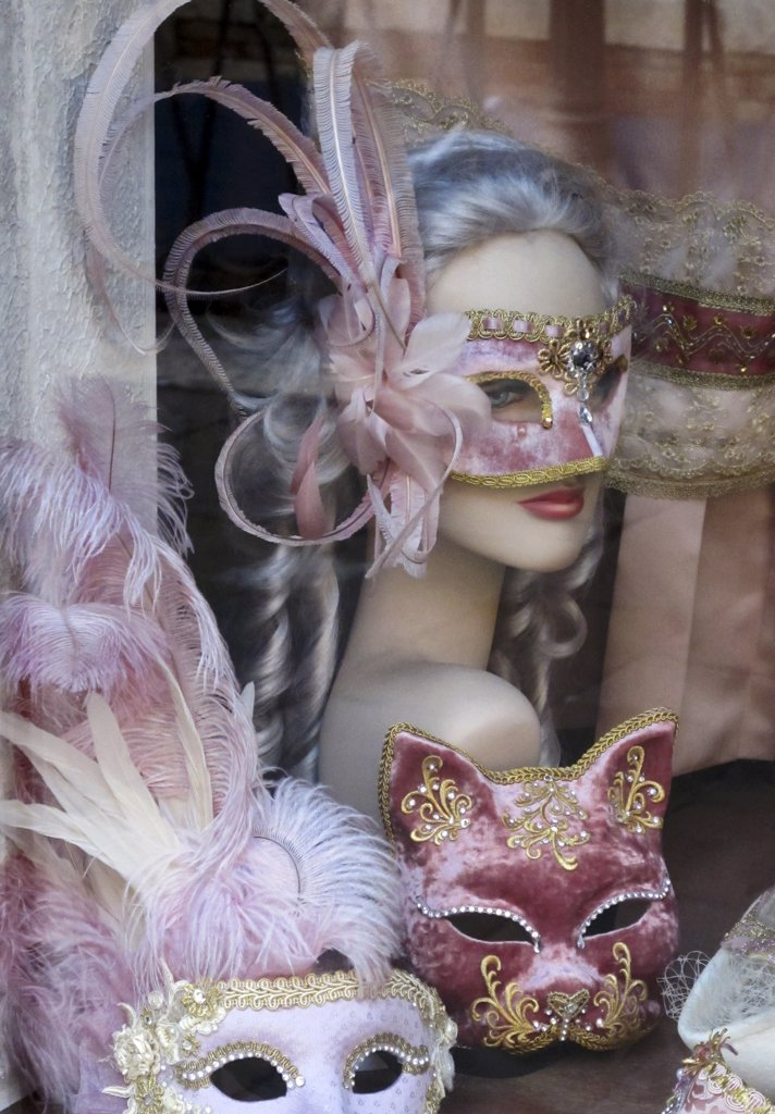 Stock Photo: 4272-38741 Venetian masks, Venice, Veneto region, Italy