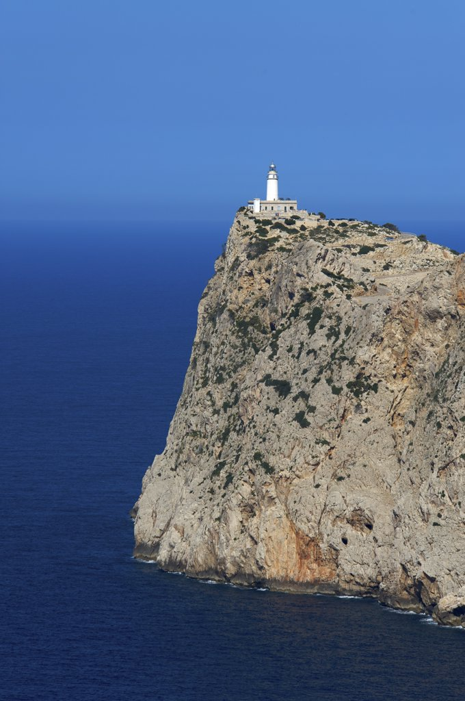 Mirador des Colomer, Cap Formentor, Majorca, Balearic Islands, Spain : Stock Photo