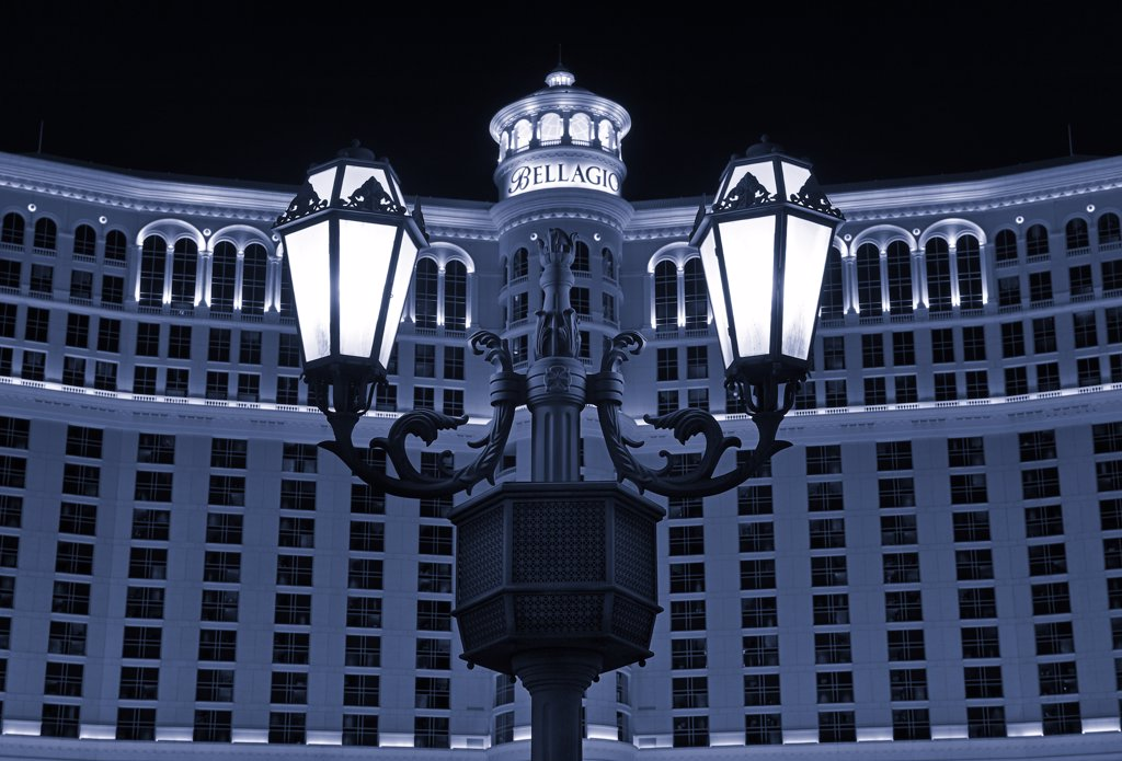 Stock Photo: 4272-39530 U.S.A., Nevada, Las Vegas, Bellagio Hotel