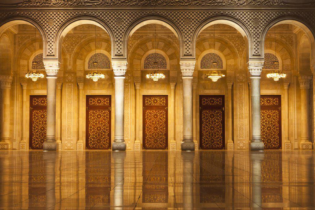 Stock Photo: 4272-39571 Yemen, Sana'a. Al-Saleh Mosque.