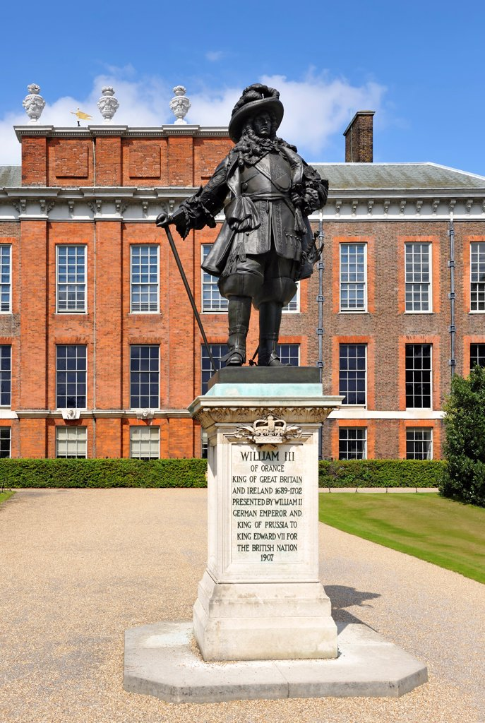 Stock Photo: 4272-40348 Europe, England, London, Kensington Palace