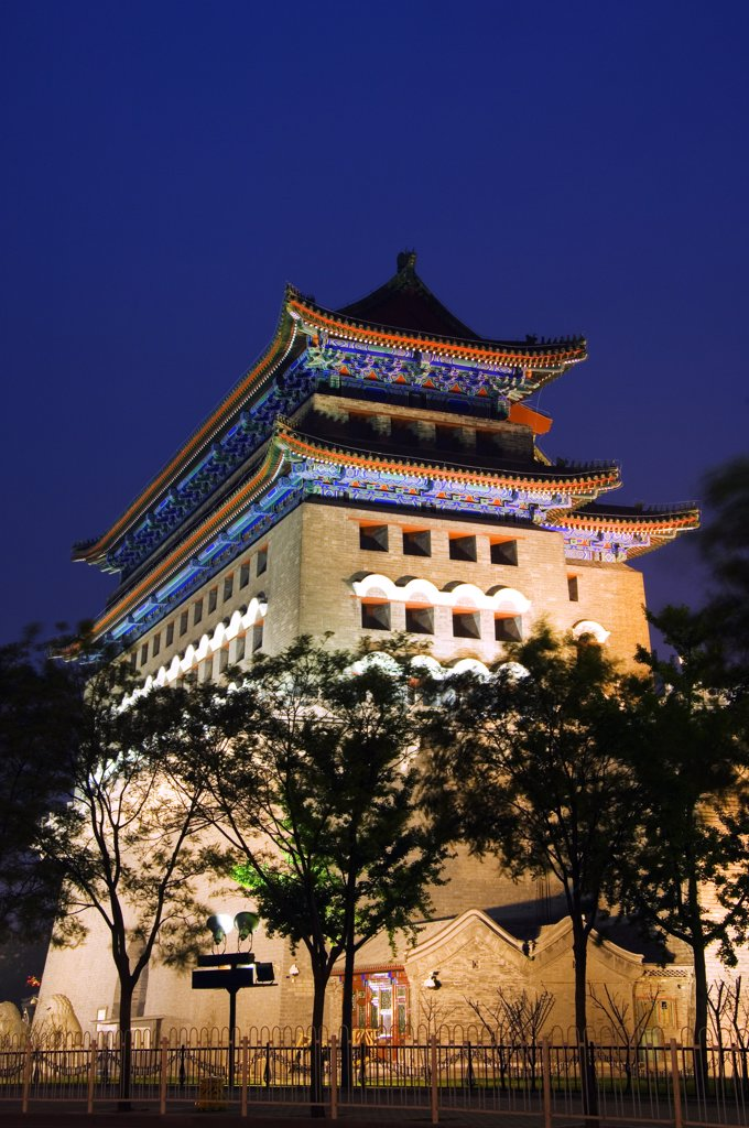 Stock Photo: 4272-4037 The Front Gate of Tiananmen Square, Beijing, China
