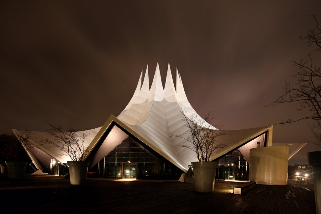 The Tempodrom is a cultural hub in Berlin offering space for concerts and other venues, Germany : Stock Photo