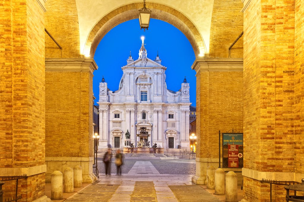 Stock Photo: 4272-45788 Italy, Marche, Ancona district, Loreto, Sanctuary of Madonna di Loreto