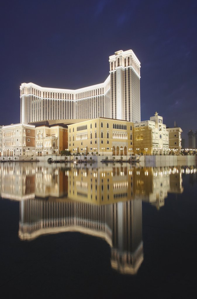 Stock Photo: 4272-5652 The Venetian Hotel, Taipa, Macau, China