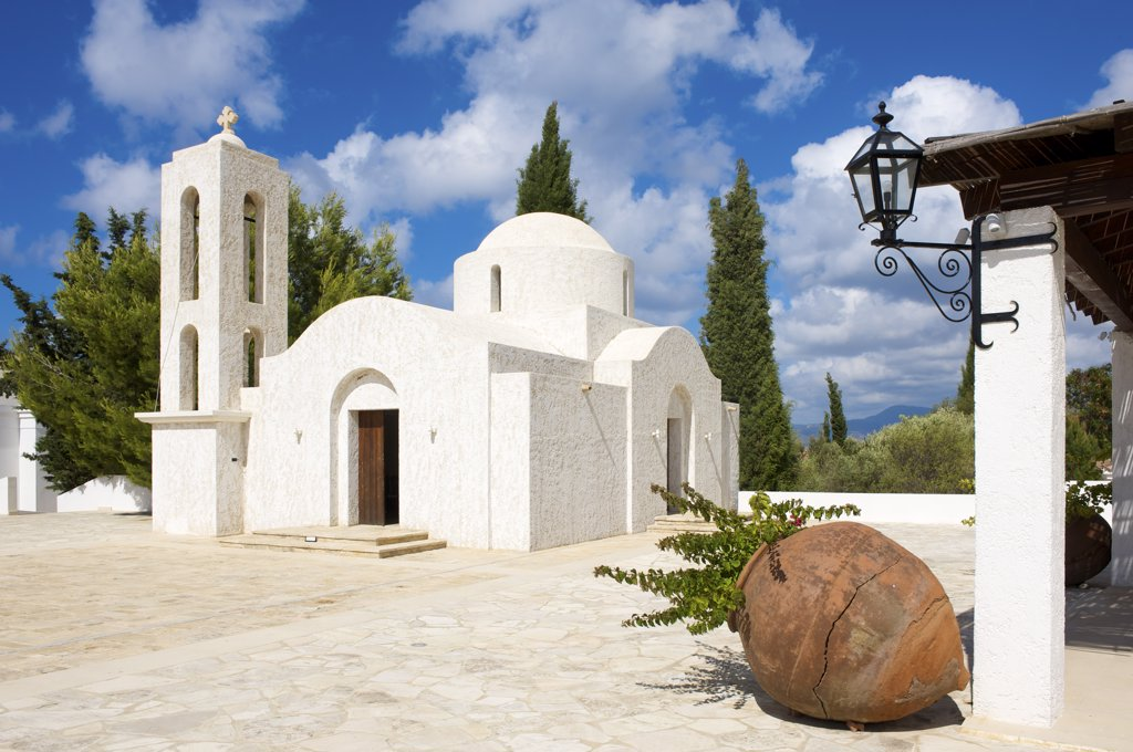 Stock Photo: 4272-7089 Church near Lakki, Akamas Penisula, Cyprus
