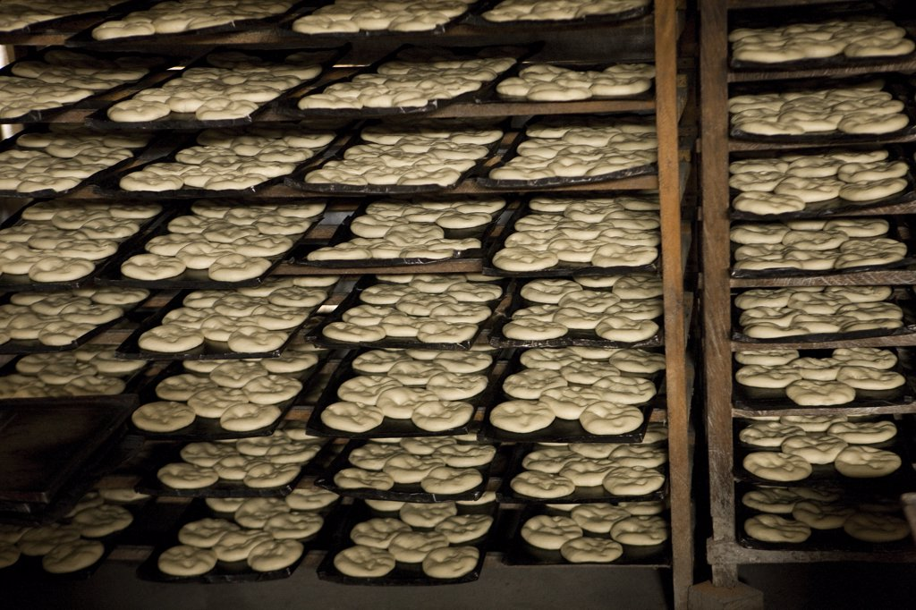 Stock Photo: 4273-15791 Artisanal Bakery, Pilcopata Village in Peru