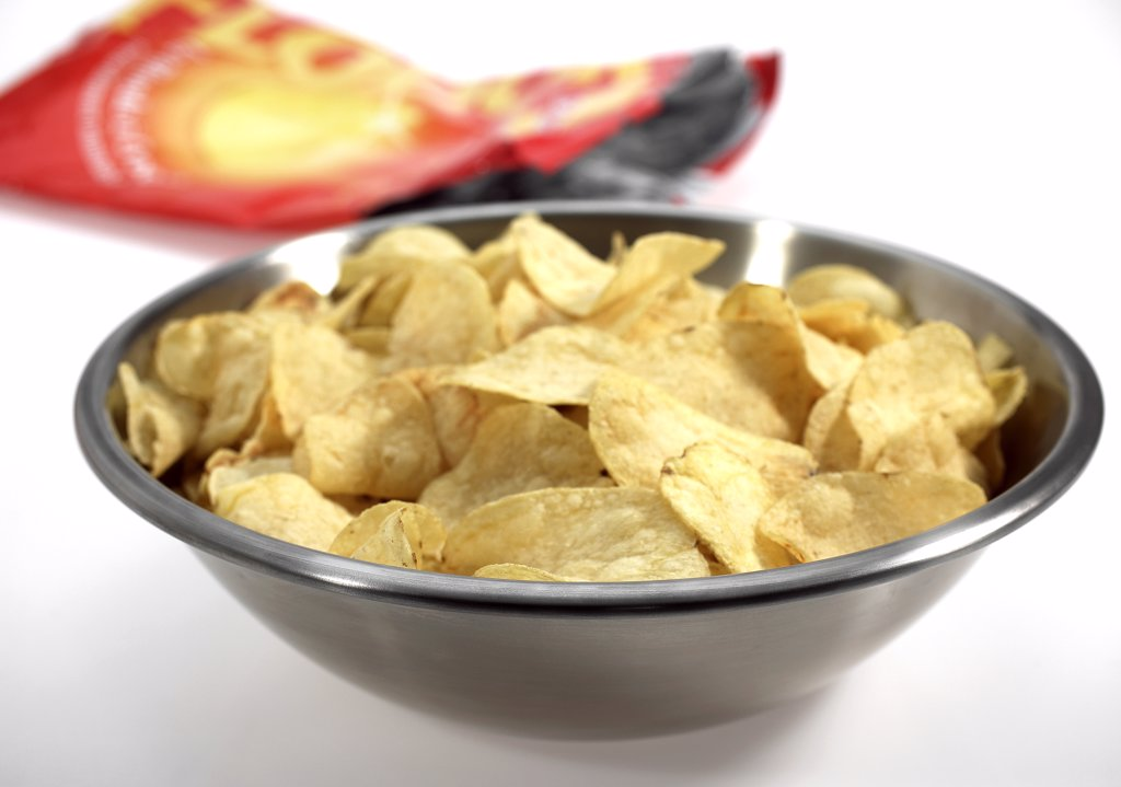 Stock Photo: 4273-17856 Potato Chips