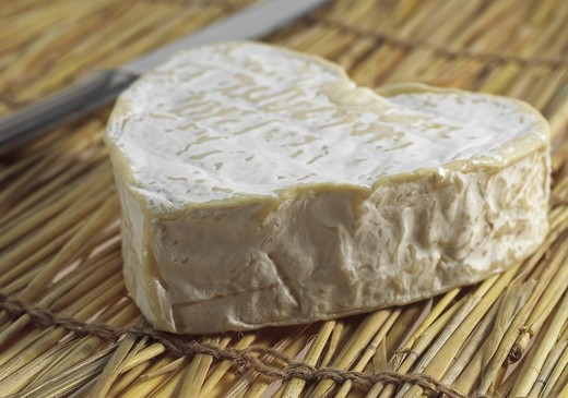 Stock Photo: 4273-5903 Neufchatel, French Cheese Made In Normandy From Cow'S Milk