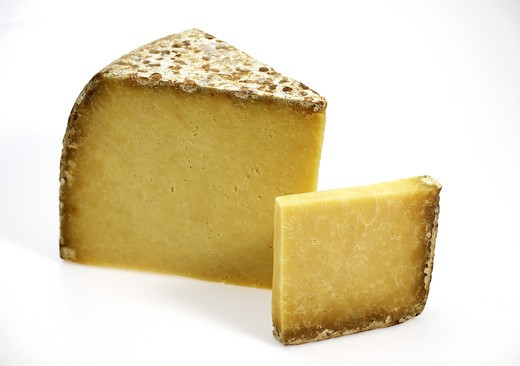 Stock Photo: 4273-6290 Cantal, A French Cheese Made From Cow'S Milk