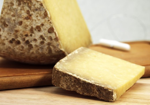 Stock Photo: 4273-6300 Cantal, A French Cheese Made From Cow'S Milk